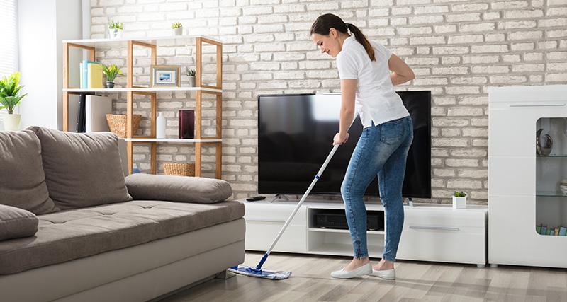 Sprzątanie domów imieszkań