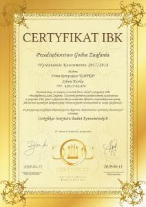 certyfikaty-Kostka-CCI041220180001