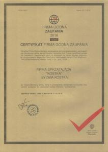 certyfikaty-Kostka-CCI041220180004